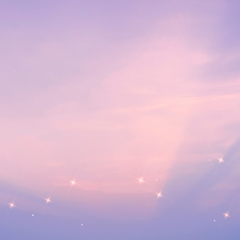 Patrón de cielo estrellado brillo fondo púrpura