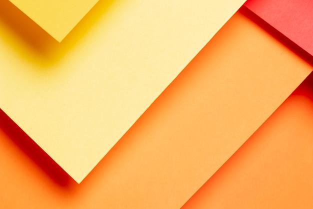 Patrón de colores cálidos degradados