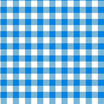 Patrón de cuadros azul abstracto para el fondo