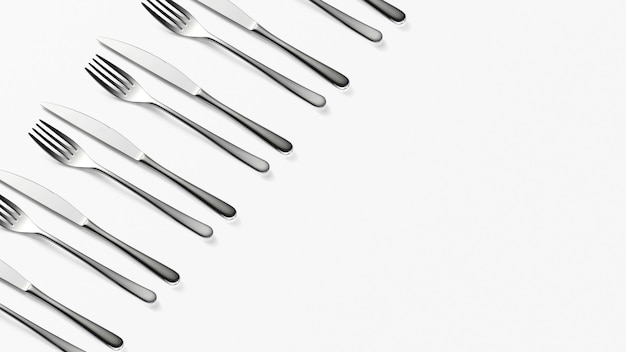 Patrón de cuchillo y tenedor