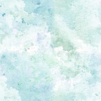 Patrón sin fisuras con acuarela pintada a mano textura abstracta.