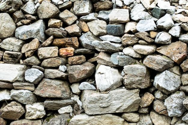 Patrón de fondo de piedras