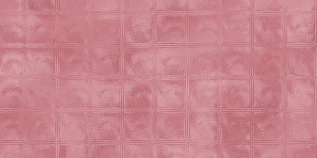 Patrón de fondo de la superficie de la pared de bloques de vidrio
