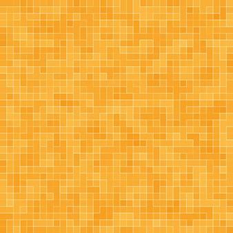Patrón geométrico colorido abstracto, fondo de textura de mosaico de gres naranja, amarillo y rojo, fondo de pared de estilo moderno.