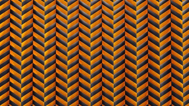 Patrón geométrico en superficie art deco