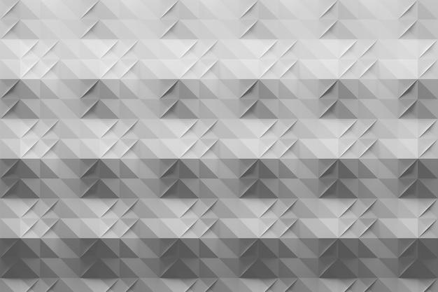 Patrón gris blanco con pliegues en estilo origami
