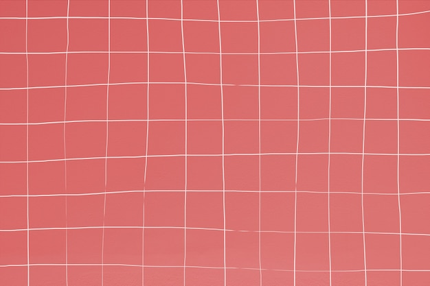 Patrón de mosaico rojo indio distorsionado de la piscina