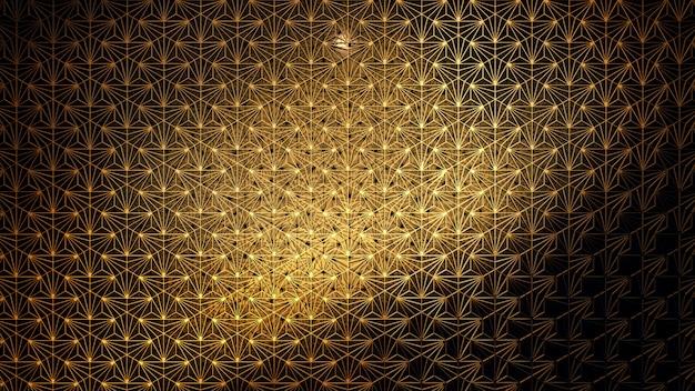 Patrón en movimiento para el fondo de estilo de decoración para el fondo de pantalla en gatsby y la escena art deco.