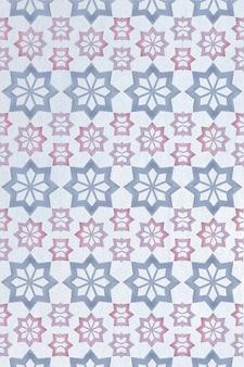 Patrón ornamental geométrico