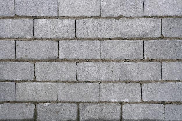 Patrón de pared de ladrillo blanco.