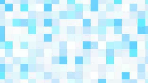 Patrón de píxeles de colores de movimiento, fondo abstracto. estilo geométrico dinámico elegante y lujoso para negocios, ilustración 3d