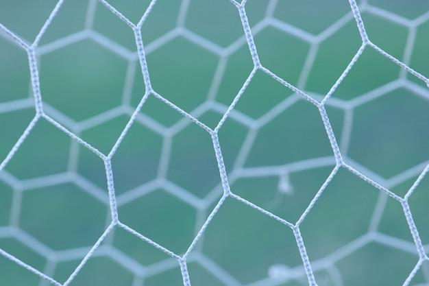 Patrón de red deportiva geométrica