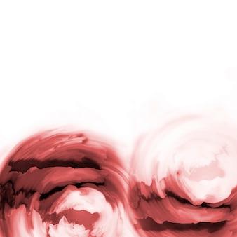 Patrón de remolino de acuarela marrón abstracto pintura