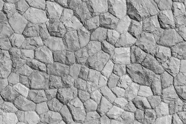 Patrón de roca color gris y planta mos de diseño moderno de estilo decorativo.