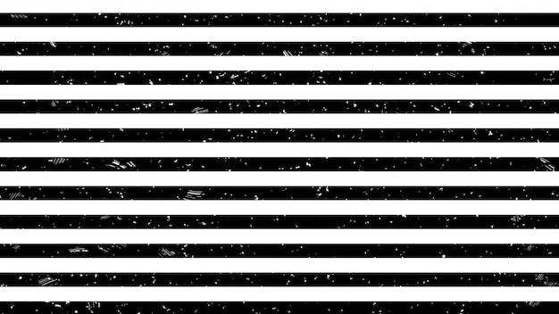 Patrón de señal de advertencia de línea de tira en blanco y negro