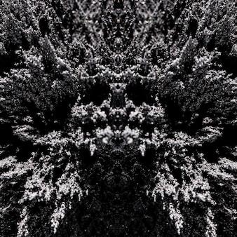 Patrón simétrico abstracto de telón de fondo de patrón de afeitado magnético