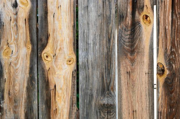 Patrón de tablones de madera, suelos de materiales naturales. revestimiento de pared, valla