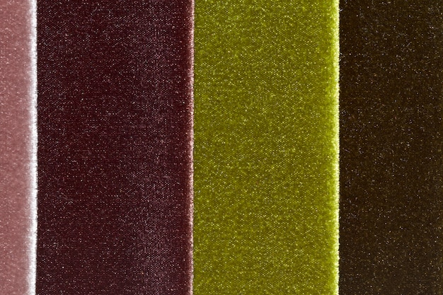 Patrón de tela de terciopelo