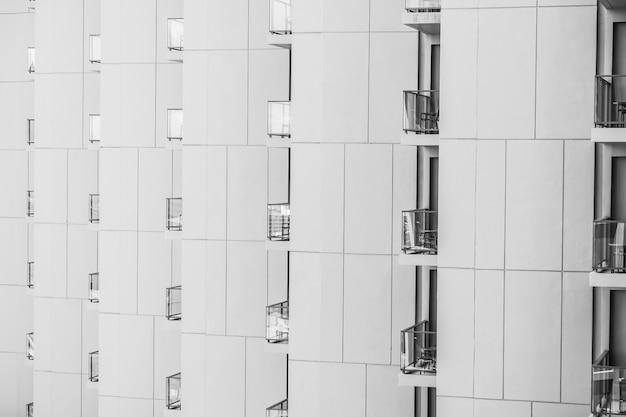 Patrón de ventana edificio