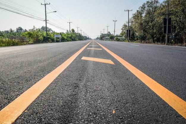 Pavimento de asfalto de carretera