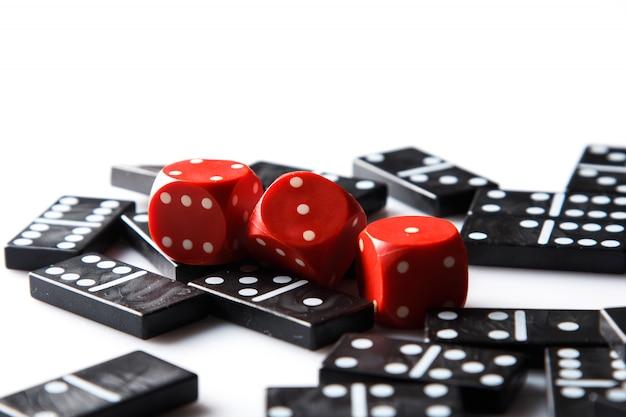 Pedazos de dominó