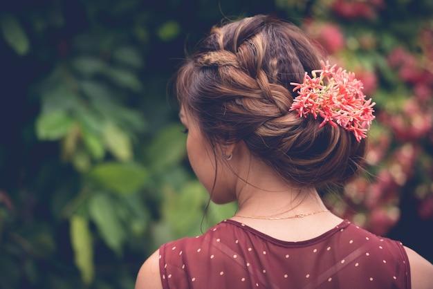 Peinado encantador