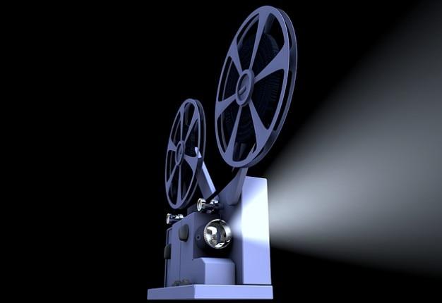Película de cine película presentación proyector