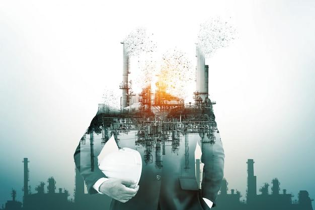 Peligro de contaminación del aire por energía convencional.
