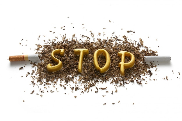 Los peligros de fumar.