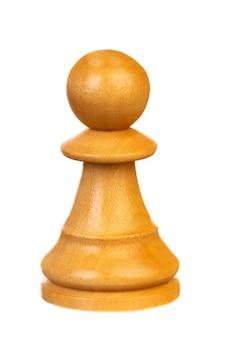 El peón, pieza de ajedrez