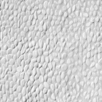 Pequeña textura de grava blanca