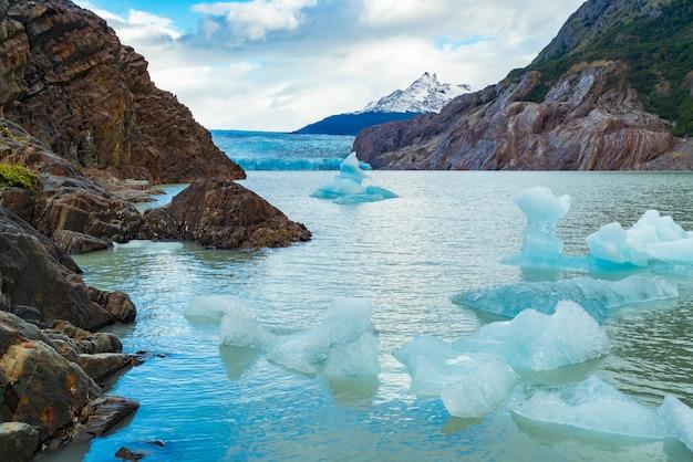 Pequeño iceberg se separó