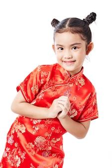 Pequeño niño asiático