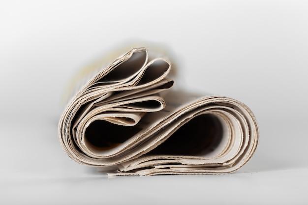 Periódico de cerca