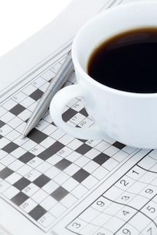 Periódicos y crucigramas