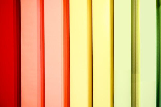 Persianas verticales multicolores
