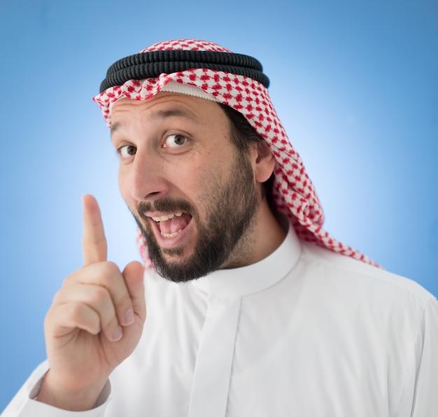 Las personas árabes posando