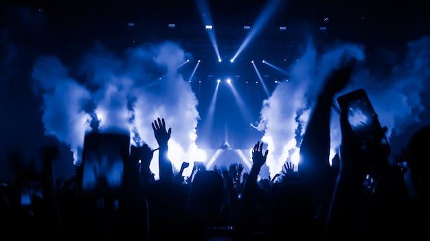 Personas en concierto
