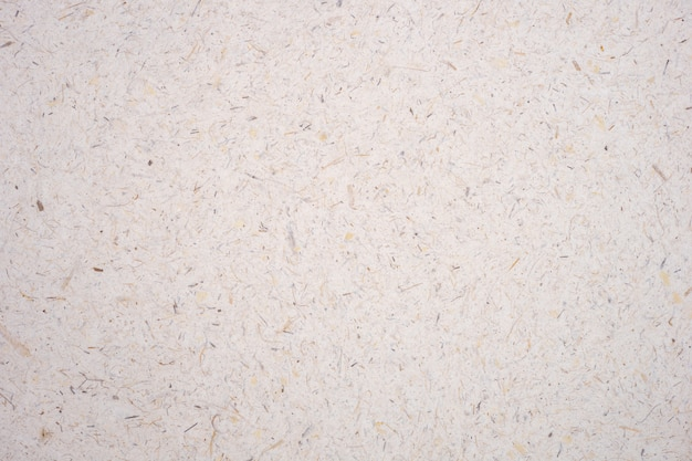 El pétalo ligero de la flor de la mora del arroz moreno y el papel áspero hecho a mano de la semilla texturizaron el fondo.