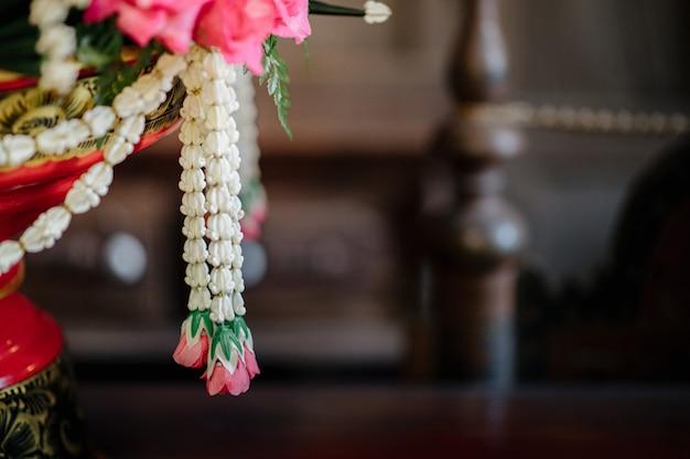 Phan khanom, una tradición de ceremonia de boda tailandesa