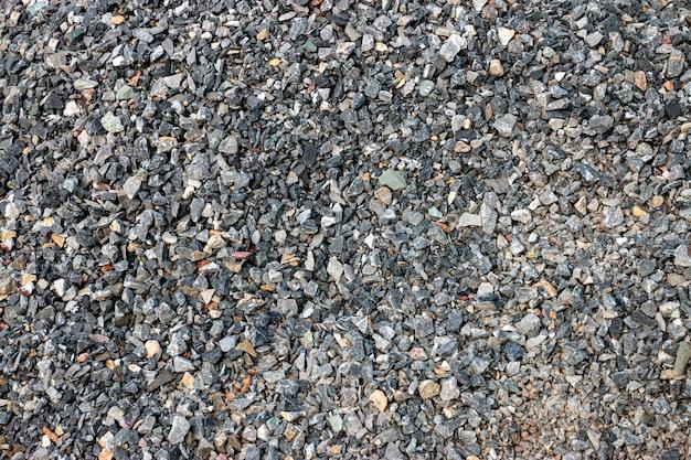 Piedra para construcción y hormigonera