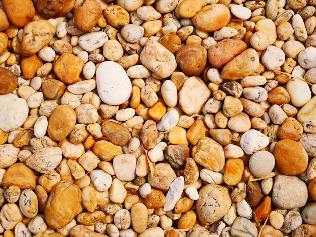 Piedra de guijarros lisos