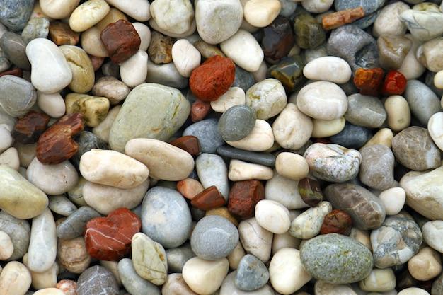 Piedras de cantos rodados