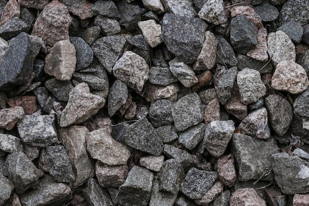 Piedras trituradas naturales
