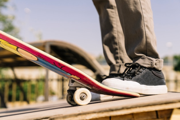 Piernas de skater