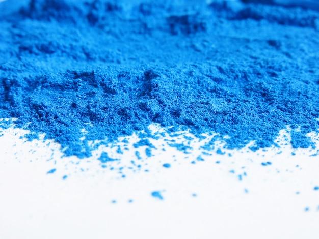 Pigmento de mica azul, polvo cosmético