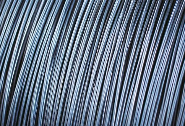 Pila de alambrón o bobina para uso industrial