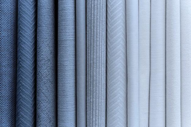 Pila de fondo de textiles