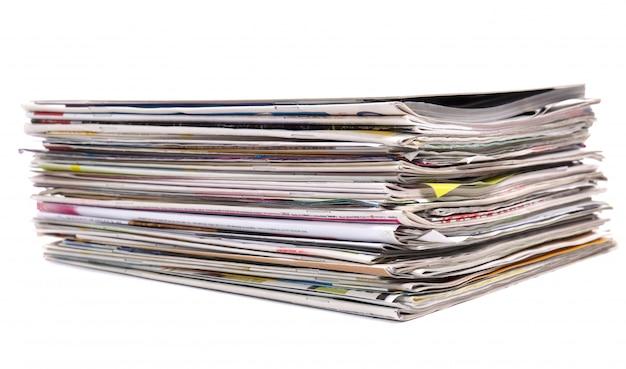 Pila de revistas