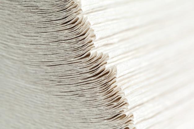 Pila de toallas de papel